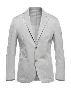 Пиджак PRIMO EMPORIO. Цвет: светло-серый