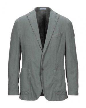 Пиджак BOGLIOLI. Цвет: зеленый-милитари