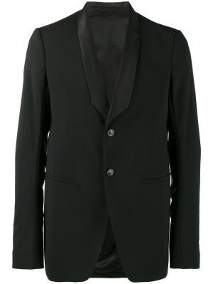 Пиджак-смокинг Tusk Rick Owens. Цвет: чёрный