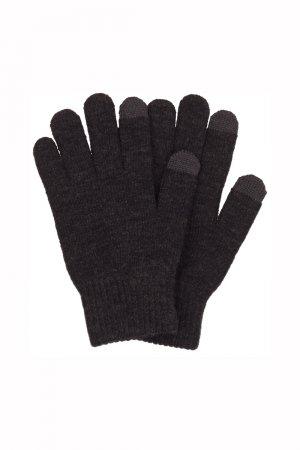 Перчатки baon. Цвет: серый