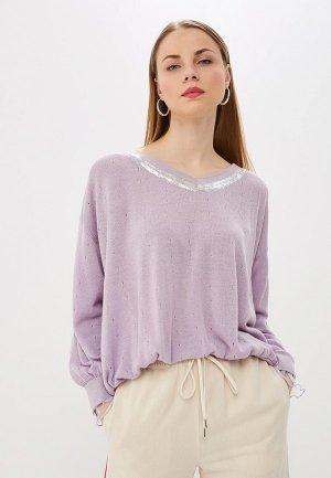 Пуловер Patrizia Pepe. Цвет: фиолетовый