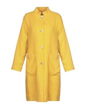 Легкое пальто MOMONÍ. Цвет: охра