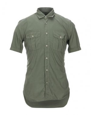 Pубашка CELLINI. Цвет: зеленый-милитари