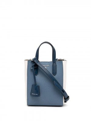 Sinclair two-tone shoulder bag Michael Kors. Цвет: синий