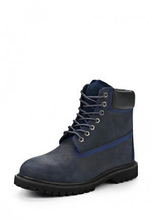 Ботинки Camelot. Цвет: синий