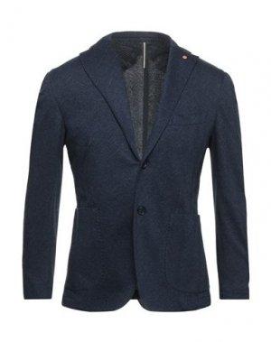 Пиджак JERRY KEY. Цвет: темно-синий