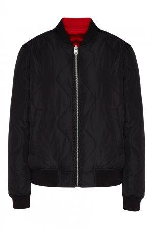Двухсторонняя куртка-бомбер Calvin Klein. Цвет: черный