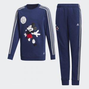 Комплект: брюки и джемпер Football Performance adidas. Цвет: темно-синий