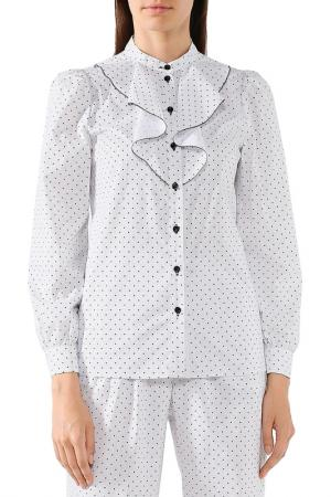 Блуза BELUCCI. Цвет: белый