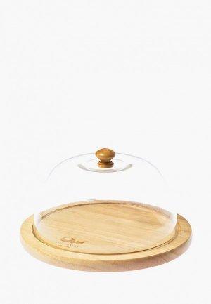 Купол для блюда Oriental way 20*20 см. Цвет: бежевый