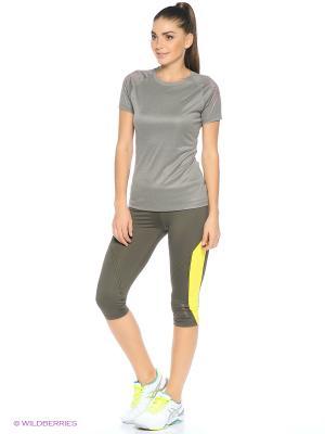 Капри Sport Vision. Цвет: серый, желтый