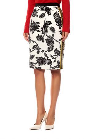 Юбка Givenchy. Цвет: белый, черный