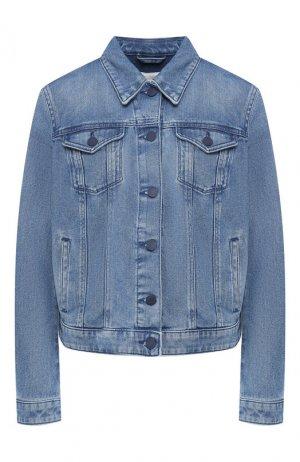 Джинсовая куртка BOSS. Цвет: голубой