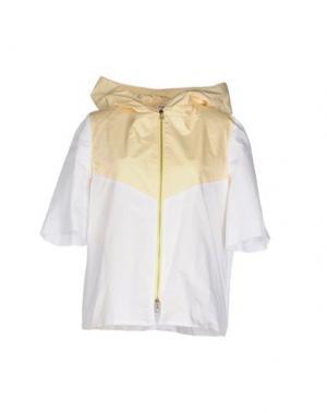Куртка AU JOUR LE. Цвет: желтый