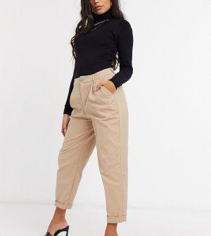 Светло-бежевые брюки-чиносы ASOS DESIGN Petite Hourglass-Светло-бежевый
