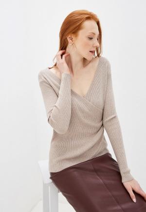 Пуловер By Swan. Цвет: бежевый