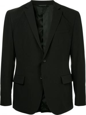 Durban приталенный пиджак D'urban. Цвет: черный