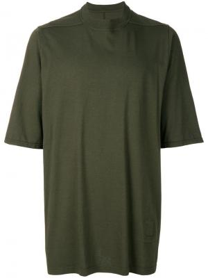 Однотонная футболка Rick Owens DRKSHDW