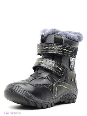 Ботинки Dummi. Цвет: серый, черный