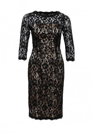 Платье Apart AP002EWJIU68. Цвет: черный