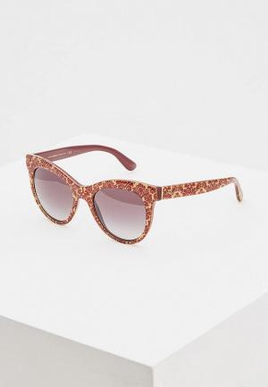 Очки солнцезащитные Dolce&Gabbana DG4311 32068G. Цвет: коричневый