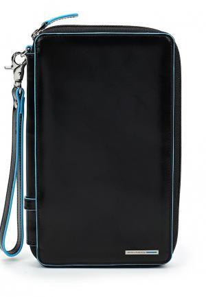Кошелек Piquadro BLUE SQUARE. Цвет: черный