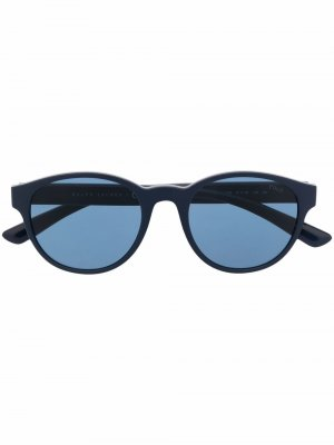 Round frame sunglasses Polo Ralph Lauren. Цвет: синий