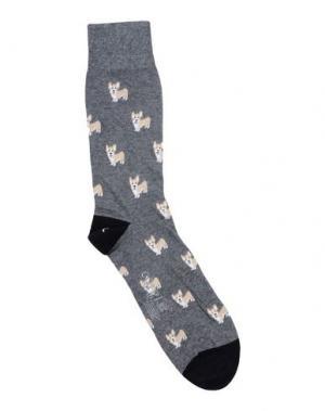Короткие носки CORGI. Цвет: свинцово-серый