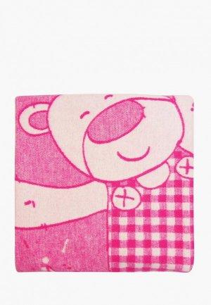 Одеяло детское Arloni 100х140. Цвет: розовый