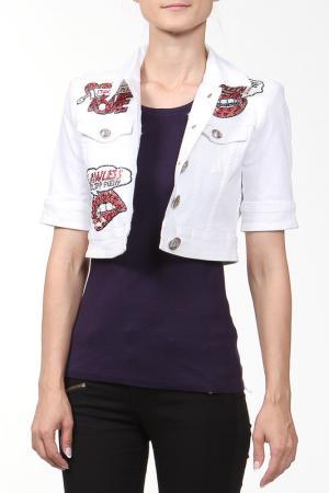 Куртка Philipp Plein. Цвет: белый