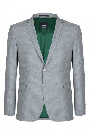 Классический серый костюм-двойка Strellson. Цвет: серый