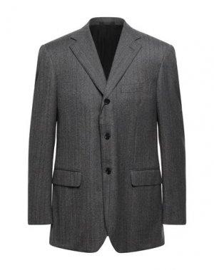 Пиджак BALLANTYNE. Цвет: свинцово-серый