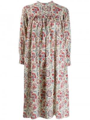 Платье с принтом Antik Batik. Цвет: красный