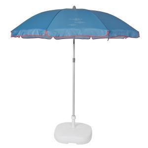 Зонт пляжный, BEACH LA REDOUTE INTERIEURS. Цвет: в клетку серый,в клетку/синий,желтый,розовый,серый,синий
