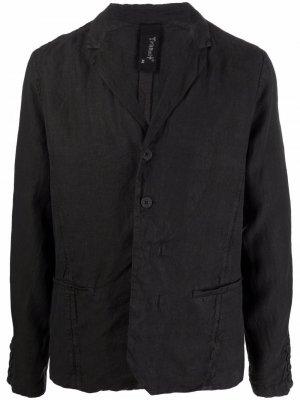 Пиджак на пуговицах Transit. Цвет: черный