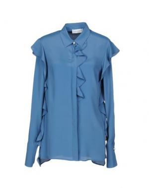 Pубашка MARIA GRAZIA SEVERI. Цвет: грифельно-синий