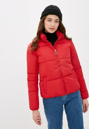 Куртка утепленная Mamma Mia. Цвет: красный