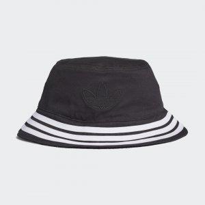 Двухсторонняя панама Velvet Originals adidas. Цвет: черный