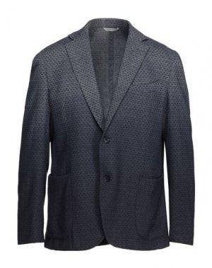 Пиджак 0909 FATTO IN ITALIA. Цвет: грифельно-синий