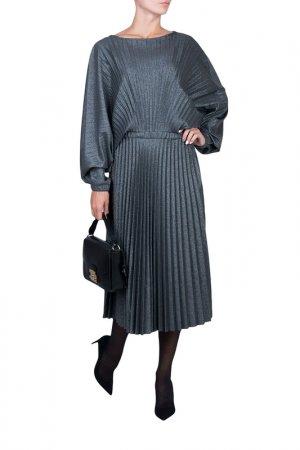 Платье Alter Ego. Цвет: серый