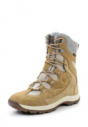 Ботинки Jack Wolfskin THUNDER BAY TEXAPORE HIGH W. Цвет: бежевый