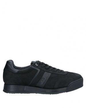 Высокие кеды и кроссовки CESARE PACIOTTI 4US. Цвет: черный