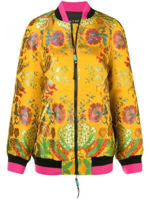 Куртка-бомбер с цветочной вышивкой Etro