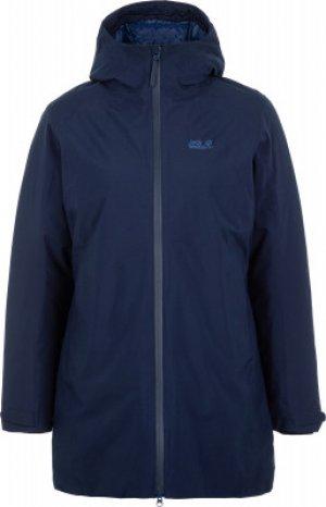 Куртка утепленная женская Jack Wolfskin Astana, размер 44. Цвет: синий