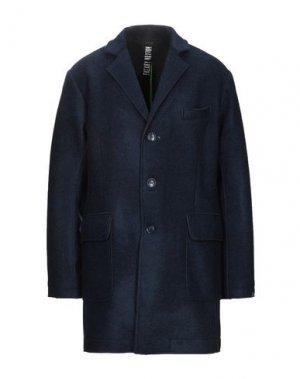 Пальто FREAKY NATION. Цвет: темно-синий