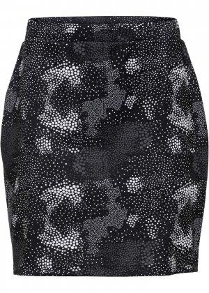 Юбка мини bonprix. Цвет: черный