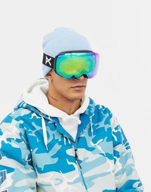 Защитные очки горнолыжника со сменными черными стеклами M2 MFI Anon. Цвет: черный