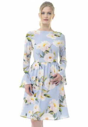Платье Arefeva. Цвет: голубой