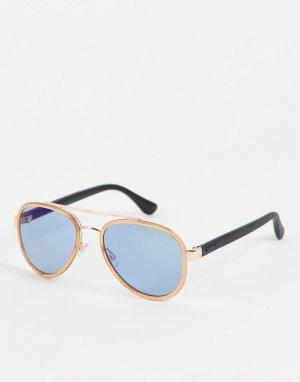 Солнцезащитные очки-авиаторы Morere-Голубой Havaianas