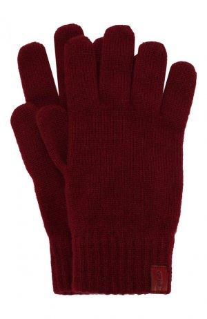 Кашемировые перчатки Giorgio Armani. Цвет: красный